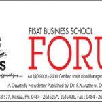 NEWSLETTER OF FISAT BUSINESS SCHOOL VOL.5